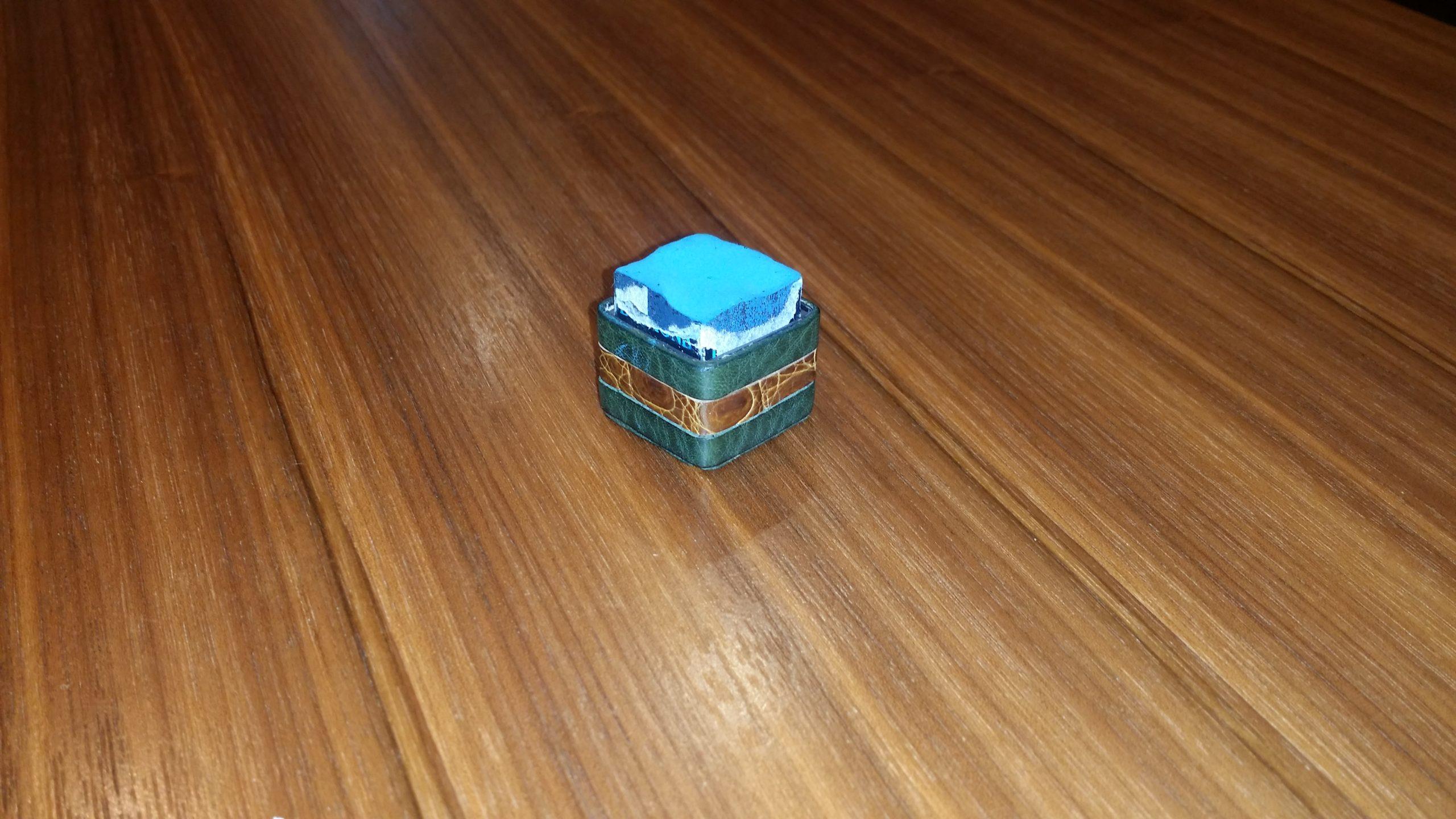 ビリヤードチョークケース 自作例 着せ替え機能付き