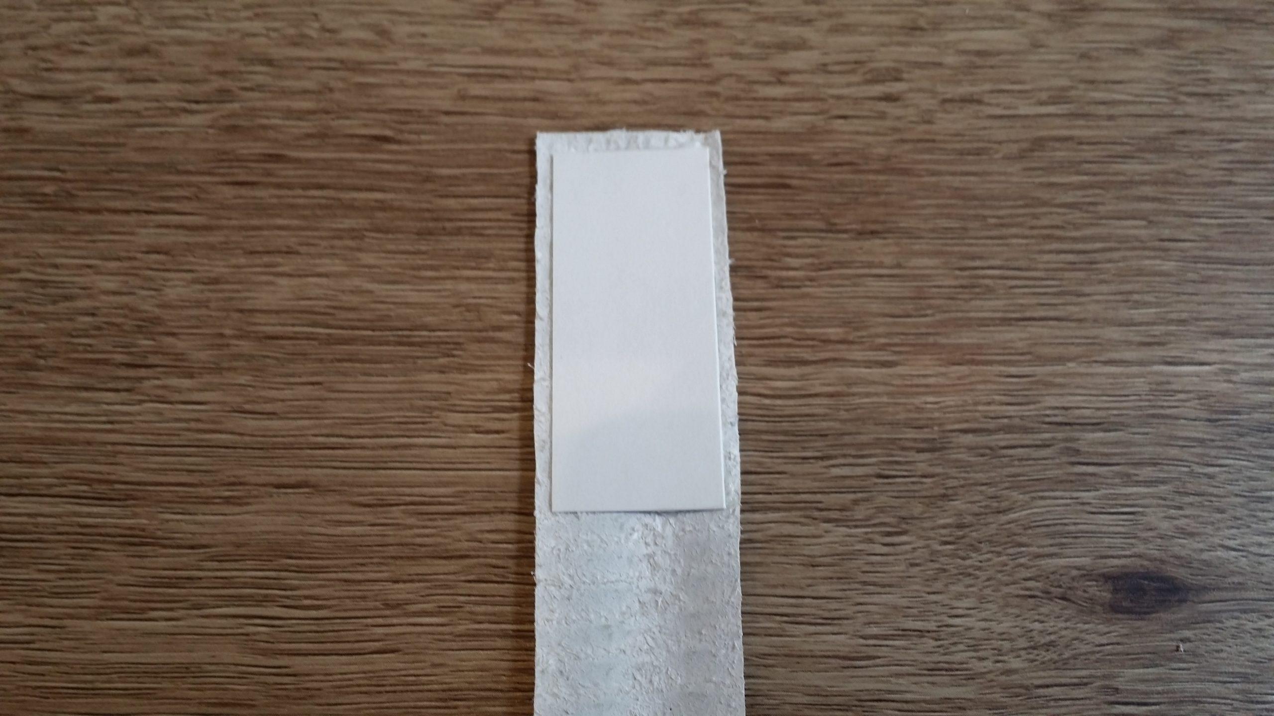 台紙貼り付け