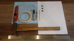 ビリヤードジョイントキャップホルダー自作の道具