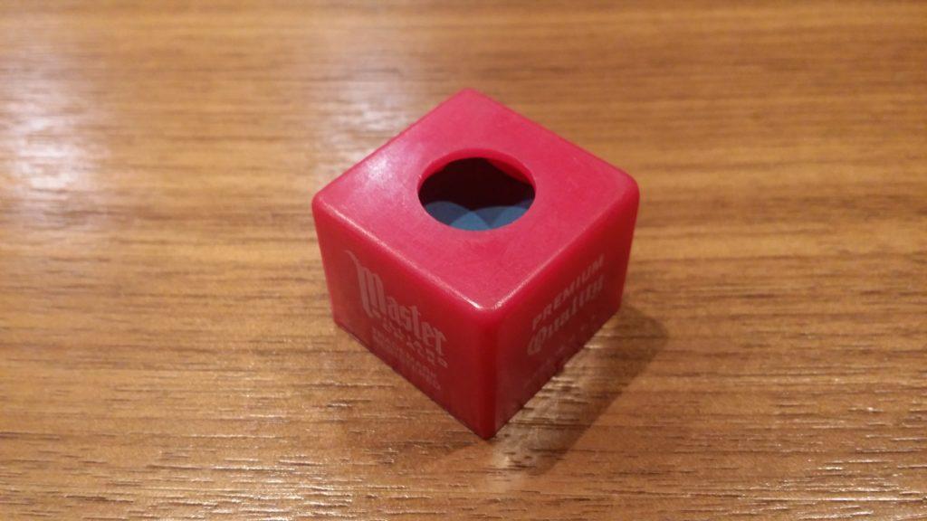プラスチック製チョークケース ふたを閉めた状態