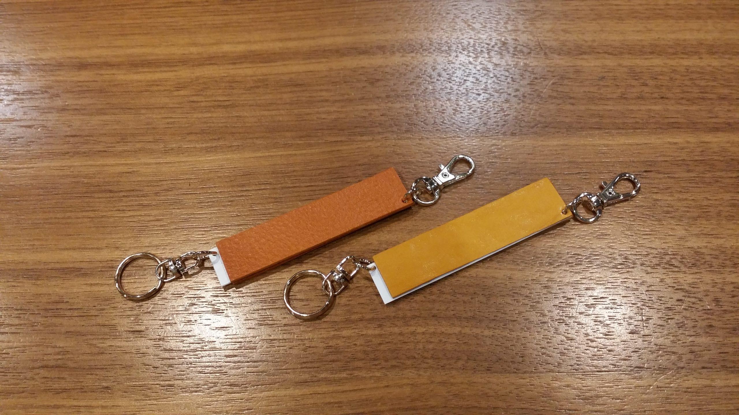 オレンジと黄色のジョイントキャップホルダーをオーダーメイド