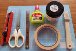 ウェイトリング自作の道具